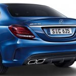 2015 Mercedes C 63 AMG rear low res