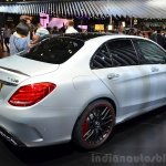 2015 Mercedes C 63 AMG rear three quarter at 2014 Paris Motor Show