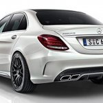2015 Mercedes C 63 AMG rear three quarters low res