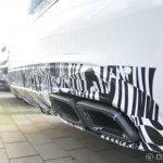 2015 Mercedes C 63 AMG spied rear bumper