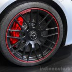 2015 Mercedes C 63 AMG wheel at 2014 Paris Motor Show