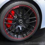 2015 Mercedes C 63 AMG wheel at 2014 Paris Motor Show