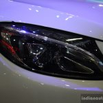 2015 Mercedes C Class at the 2014 Philippines Motor Show headlight