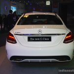2015 Mercedes C Class at the 2014 Philippines Motor Show rear