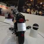 2015 Moto Guzzi V7 at INTERMOT 2014 stoplight