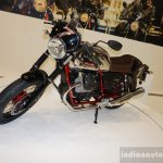 2015 Moto Guzzi V7 front three quarters at INTERMOT 2014