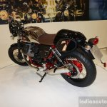 2015 Moto Guzzi V7 rear three quarters at INTERMOT 2014