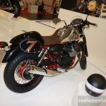 2015 Moto Guzzi V7 rear three quarters left at INTERMOT 2014