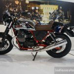 2015 Moto Guzzi V7 side at INTERMOT 2014