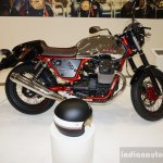 2015 Moto Guzzi V7 side view 1 at INTERMOT 2014