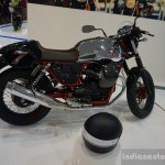 2015 Moto Guzzi V7 side view 2 at INTERMOT 2014