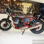 2015 Moto Guzzi V7 side view at INTERMOT 2014