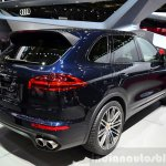 2015 Porsche Cayenne at the Paris Motor Show 2014