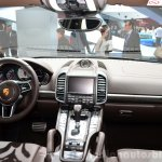 2015 Porsche Cayenne dashboard at the Paris Motor Show 2014