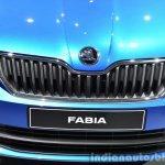2015 Skoda Fabia grille at the 2014 Paris Motor Show