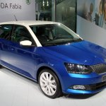 2015 Skoda Fabia images front three quarter