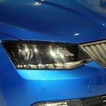 2015 Skoda Fabia images headlight