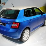 2015 Skoda Fabia images rear quarters