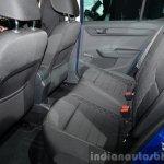 2015 Skoda Fabia rear seat at the 2014 Paris Motor Show