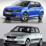 2015 Skoda Fabia vs current Skoda Fabia