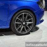 2015 Skoda Fabia wheel at the 2014 Paris Motor Show