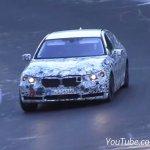 2016 BMW 7 Series spied Germany