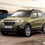 2016 Chevrolet Niva production version render