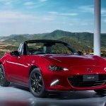 2016 Mazda MX-5 Miata front three quarters