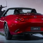 2016 Mazda MX-5 Miata rear three quarters left
