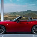 2016 Mazda MX-5 Miata roof folded