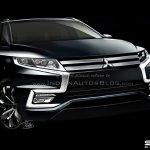 2016 Mitsubishi Outlander front rendering
