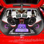 3-door Tata Vista Modified at the 2014 Indonesia International Motor Show music system