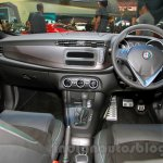 Alfa Romeo Giulietta dashboard at the 2014 Indonesia International Motor Show