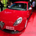 Alfa Romeo Giulietta front three quarters at the 2014 Indonesia International Motor Show