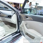 Audi A6 facelift door trim at the 2014 Paris Motor Show