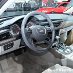 Audi A6 facelift interior at the 2014 Paris Motor Show