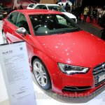 Audi S3 front three quarters left at the 2014 Indonesia International Motor Show