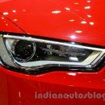Audi S3 headlamp at the 2014 Indonesia International Motor Show