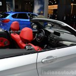 BMW 2 Series Convertible headrests at the 2014 Paris Motor Show