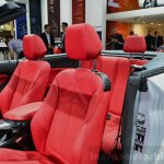 BMW 2 Series Convertible seats at the 2014 Paris Motor Show