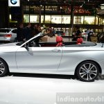 BMW 2 Series Convertible side at the 2014 Paris Motor Show