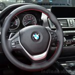 BMW 2 Series Convertible steering wheel at the 2014 Paris Motor Show