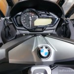 BMW C 600 Sport special edition instrument console at the 2014 INTERMOT 2014