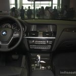 BMW X3 facelift dashboard at 2014 Philippines Motor Show