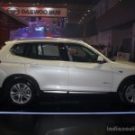 BMW X3 facelift side at 2014 Philippines Motor Show