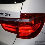 BMW X3 facelift taillamp at 2014 Philippines Motor Show