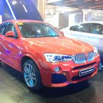 BMW X4 at 2014 Philippines Motor Show