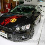 Chevrolet Aveo Manchester United Edition at the 2014 Indonesia International Motor Show