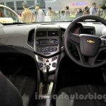 Chevrolet Aveo Manchester United Edition dashboard at the 2014 Indonesia International Motor Show