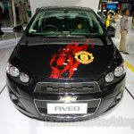 Chevrolet Aveo Manchester United Edition front at the 2014 Indonesia International Motor Show